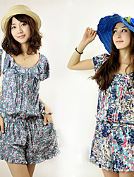 Flower Printed Jumpsuit