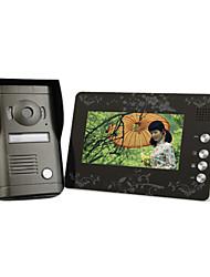 chinoiserie 7 pouces moniteur couleur de la porte du système vidéo avec caméra en fonte