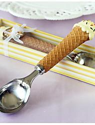 ensembles servant gâteau de mariage collection cuillère à crème glacée amateurs de crème glacée de couteau »
