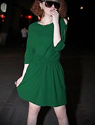 винтажное платье рябить