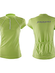 Jaggad Cycling Jersey Women's Short Sleeve Bike Jersey Tops Quick Dry Breathable Polyester Coolmax Solid Spring Summer Cycling/BikeOrange