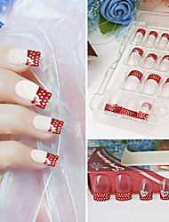 Super Cool Shining False Acrylic Nail Art Tips