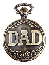 Relógio de Homem com Logo DAD (Bronze)