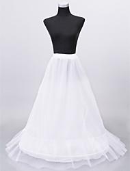Nylon Medium Fülle und rutschfestem Boden llength Frauen Hochzeit Unterröcke