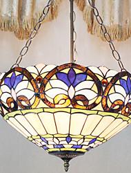 tiffany lámpara colgante con 3 luces