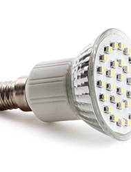 2W E14 Точечное LED освещение PAR38 30 SMD 3528 90 lm Естественный белый AC 220-240 V