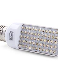 3W E26/E27 Ampoules Maïs LED T 55 Dip LED 200 lm Blanc Chaud AC 100-240 V