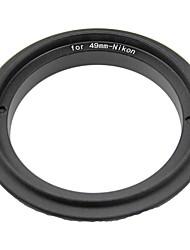 49mm Reverse Ring for Nikon DSLR Cameras