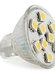 GU4 2 W 9 SMD 5050 120 LM Warm White MR11 Spot Lights DC 12 V