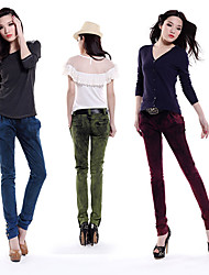 Leisure Button Jeans