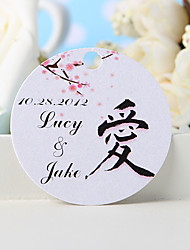 Personalized Favor Tag - Love (Set of 36)