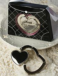 sac à main en métal en forme de sac à main de mariage valet faveur