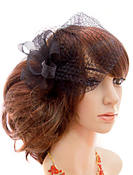 Women's Tulle Headpiece - Wedding/Special Occasion/Casual/Outdoor Fascinators/Birdcage Veils