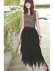 Fashion Layered Yarn Skirt