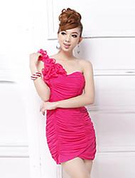 Attractive Shoulder Woman Party Dress