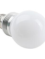 3W E26/E27 Lâmpada Redonda LED G60 3 LED de Alta Potência 270 lm Branco Natural AC 85-265 V