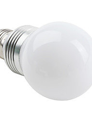 3W E26/E27 LED Globe Bulbs G60 3 High Power LED 270 lm Natural White AC 85-265 V