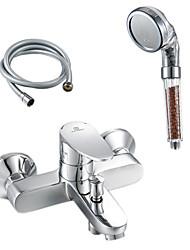 современный кран ванной латуни с анионом ручной душ