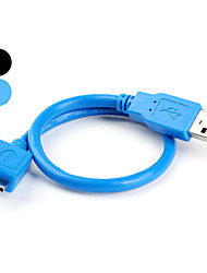 USB Male to USB 3.0 Female Cable (30cm)
