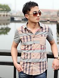 модные мужские рубашки проверено