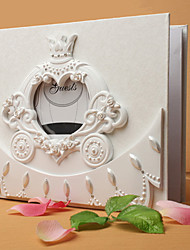 Fairytale Themed Carriage Wedding Guest Book