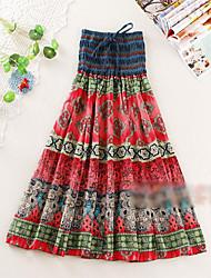 Tribal Bohemian Long Skirt