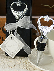 "Chrome Bottle Favor-1Piece/Set Bottle Openers Classic Theme Non-personalised Silver 5"" (12.7cm)Gift box with a organza ribbon and ""Thank"