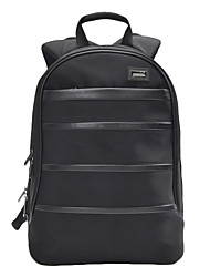 Portable 14-Inch Laptop Padded Backpack for MacBook Air Pro and iPad and Tablet PCs (Black)