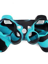 USD $ 15.26 – Kabelloser, Schwarz-Weißer Camouflage Dual Shock Bluetooth V4.0 Controller für PS3