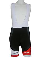 poliéster kooplus de homens de bicicleta de 80% e 20% lycra 1/2 calções bib