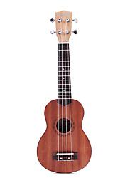 ukulele mogno soprano (escultura bonita)