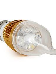 Luzes de LED em Vela E26/E27 4W 360 LM 6000K K Branco Natural 4 V CA35