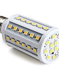 9W E26/E27 LED Corn Lights 60 SMD 5050 800 lm Warm White AC 220-240 V