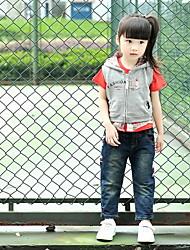 Fashion Kids Cute Hooded Vest