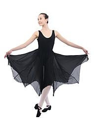 dancewear algodón / spandex vestido de ballet de baile para damas