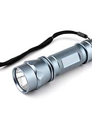 Romisen rc-1-kf-Modus Cree XR-E Q5 LED Taschenlampe (250lm, 3xAAA, blau)