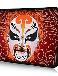 "Peking Opera Neoprene Laptop Sleeve Case for 10-15"" iPad MacBook Dell HP Acer Samsung"