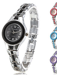 Women's Fashionable Style Alloy Analog Quartz Bracelet Watch (Multi-Colored) Cool Watches Unique Watches