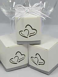 12 Piece/Set Favor Holder - Cubic Card Paper Favor Boxes
