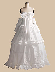Inspired by Macross Frontier Sheryl Nome Anime Cosplay Costumes Cosplay Suits Solid White Top
