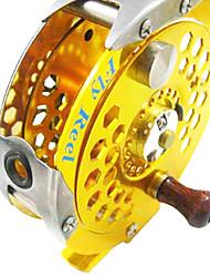 bobinas de metal da pesca da mosca (600a/800a/1000a)