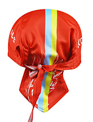 Bandana Bike Cycling,KOOPLUS-Men's 100% Polyester Cycling Headscarf (Red)