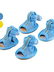 Sandals Mesh Style Shoes for Dogs (XS-XL, Assorted Colors)