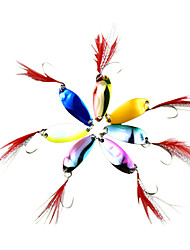 1 pcs Poissons nageur/Leurre dur / Appât métallique / Leurre forme de cuillère / leurres de pêcheAppât métallique / Poissons