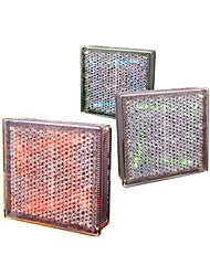 Solar Powered Artistic Metal Underground Lights with 4 LED Lights Mesh Design