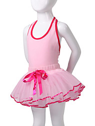 Kids' Dancewear Tutus / Dresses Children's Performance Cotton / Spandex Sleeveless