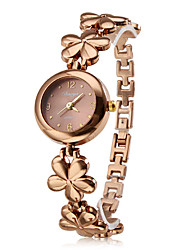 Women's Fashionable Style Alloy Analog Quartz Bracelet Watch (Bronze) Cool Watches Unique Watches