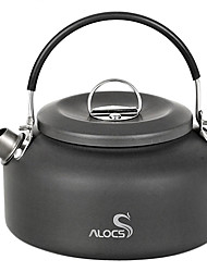 ALOCS® Camping Kettle 0.8L Camping Cookware for Hiking/Picnic/Backpacking
