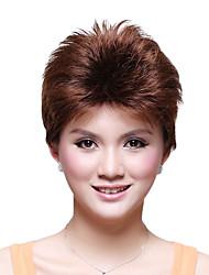 Capless Short Top Grade Synthetic Japanese Kanekalon Straight Wig