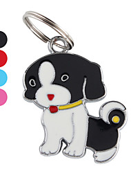 Dog tags Red Nose Dog ID Tag Key Chain (Assorted Colors)